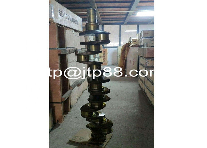 Forged Steel Die Forging Crankshaft W04D EM505 Vehicle Crank Shaft For Diesel 13411-1583